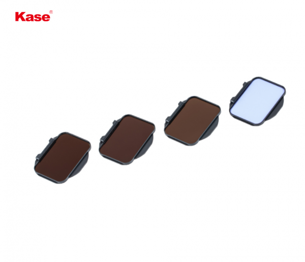 Kase 4-In-1 UV & ND Clip-In Filter Set for Sony Alpha Cameras