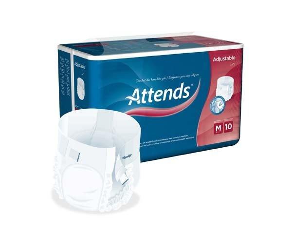 ATTENDS Adjustable 10 medium 4X21St