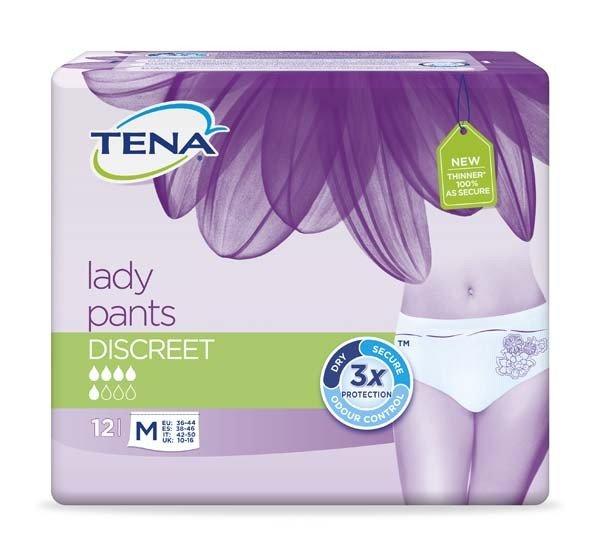 TENA LADY Pants Discreet M 6X12St
