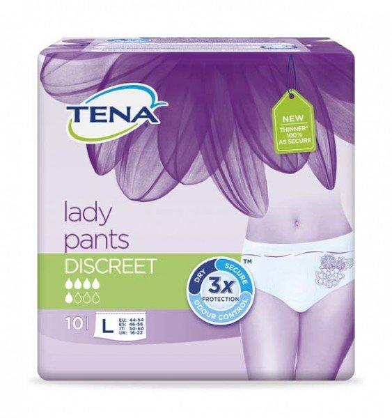 TENA LADY Pants Discreet L 6X10St