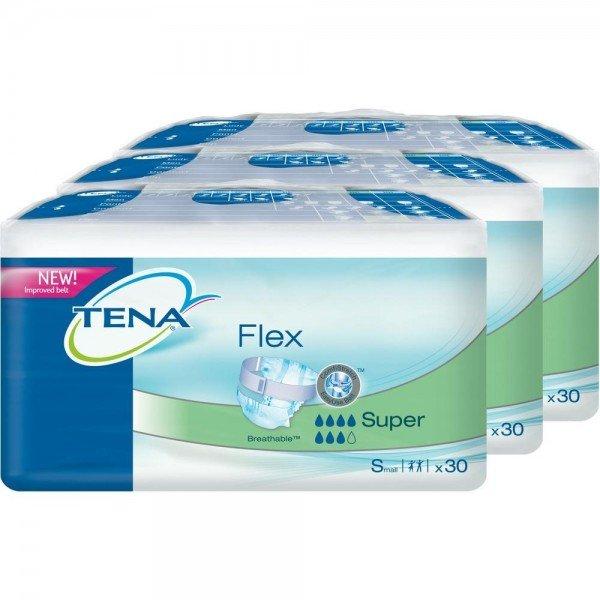 TENA FLEX super small 3X30St
