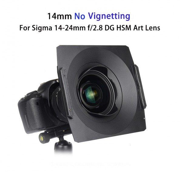 Kase K170 II filter holder for Sigma 14-24mm F2.8