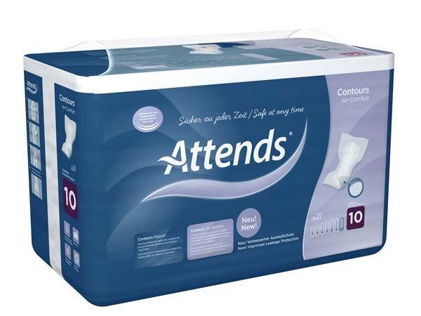ATTENDS Contours Air Comfort 10 4X21St