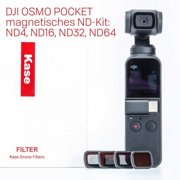 Kase DJI OSMO Pocket ND FIlter Kit incl. ND8 ND16 ND32 ND64