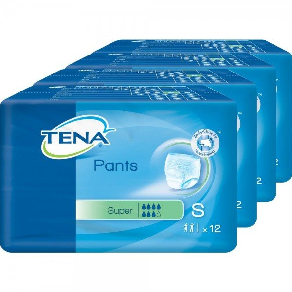 TENA PANTS SUPER S 65-85CM - 4X12 St