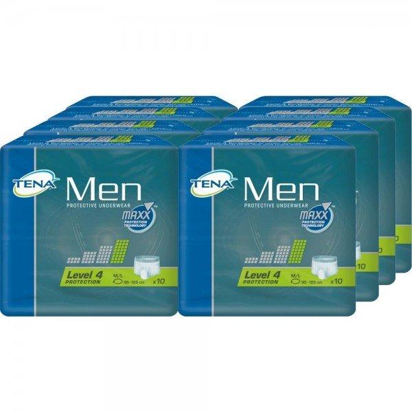 TENA MEN PROTEC LEVEL4 M/L - 8X10 St