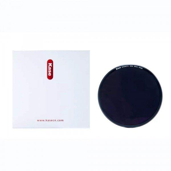 kase magnetischer nd64 rundfilter 90mm für k9 filterhalter