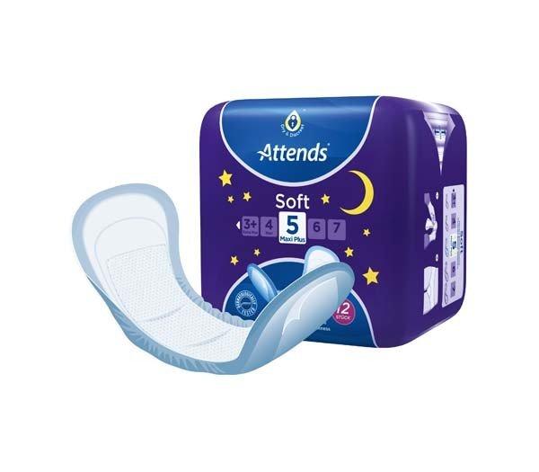 ATTENDS Soft 5 maxi plus 8X12St